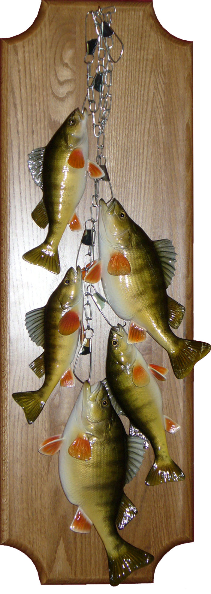 Stringer of perch replicas